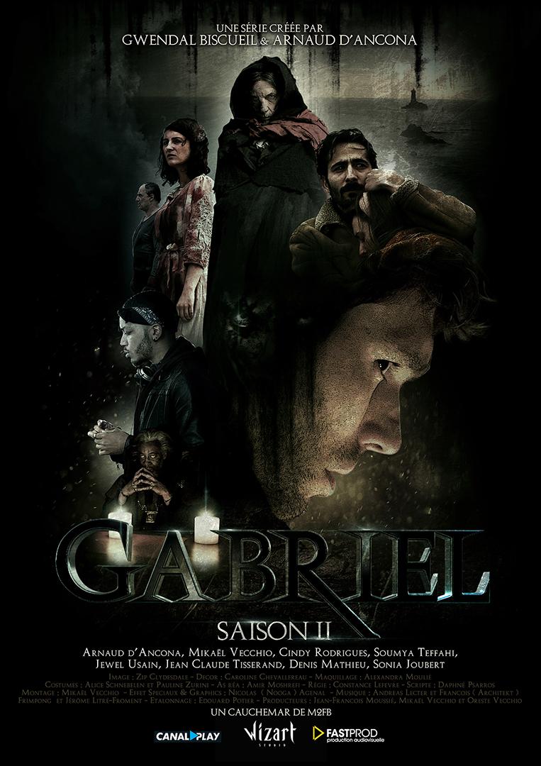 affiche WEBSERIE GABRIEL SAISON II