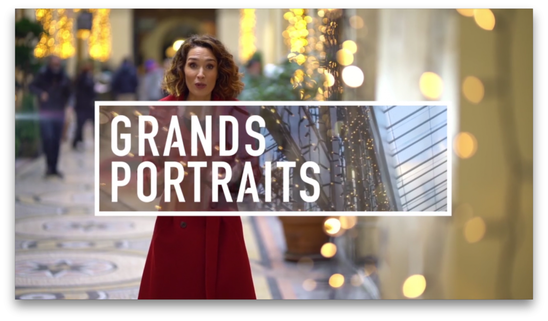 Générique Emission GRANDS PORTRAITS