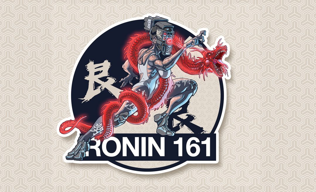 STICKERS RONIN 161